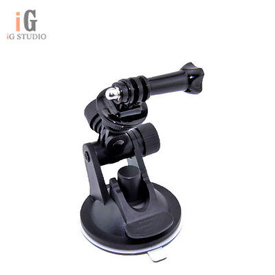 mini car Suction Cup Mount +tripod mount +handle screw for GoPro HERO3 Camera