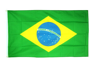 Brazil Flag Giant 8 x 5 FT -  Massive Huge Brazilian