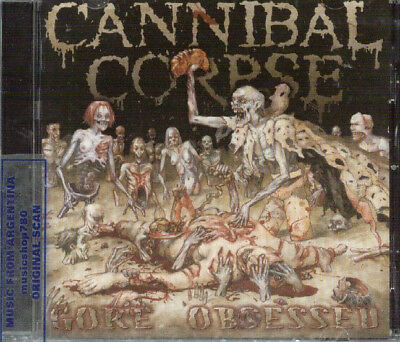 Cannibal Corpse Gore Obsessed Sealed Cd New