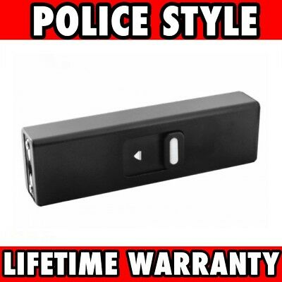 BLACK TACTICAL SELF DEFENSE 999 MV MINI RECHARGEABLE POLICE STUN GUN Keychain