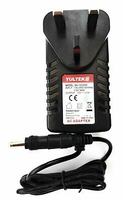"12V Mains AC-DC Charger Power Supply for Maxtek 9"" Portable DVD Player S18"