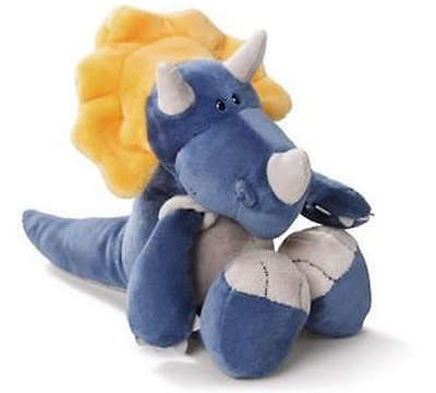 Lovely Cute Blue Dinosaur Stuffed Animals plush doll 25CM New