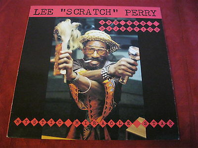LP Reggae LEE PERRY AND THE MAJESTICS Mystic Miracle Star 1982