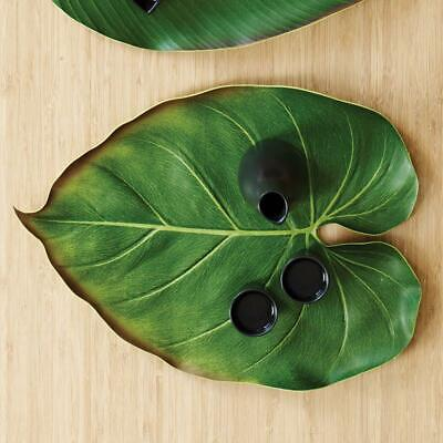 Design Ideas BaliHai Philodendron Tropical Exotic Leaf Placemat Dining Table Mat