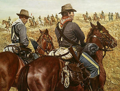 """""""The Pony Soldiers"""" Don Stivers Limited Edition Artist Proof Giclee Print"""
