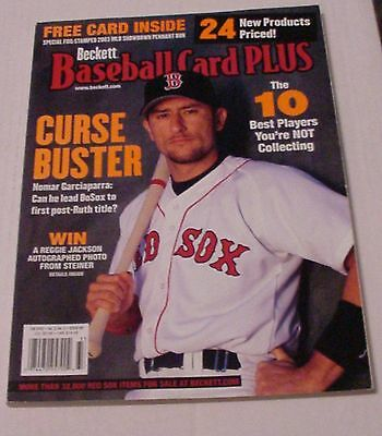 Beckett Baseball Card Plus Magazine - Fall 2003