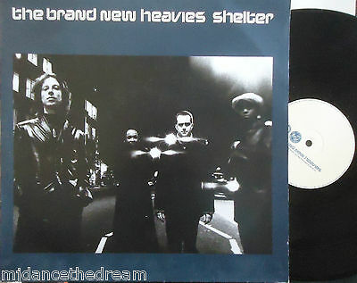 "BRAND NEW HEAVIES ~ Shelter ~ 12"" Single PS"