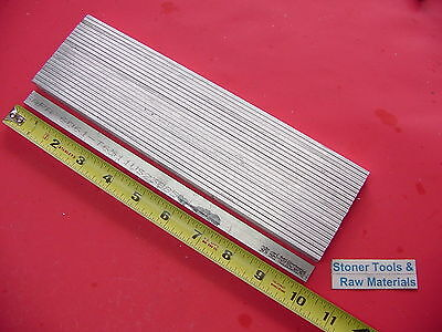 "24 Pieces 1/8"" X 1/2"" ALUMINUM 6061 FLAT BAR 10"" long T6511 .125"" New Mill Stock"