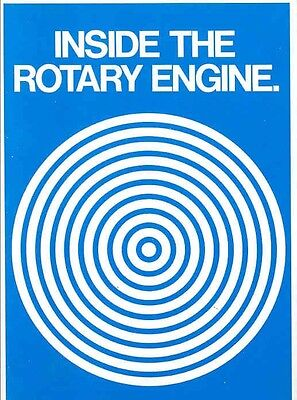 1977 1978 Mazda RX7 Rotary Engine Brochure my2815
