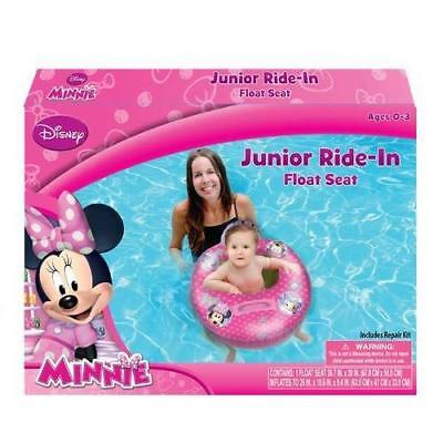 Minnie Mouse Bowtique Baby Toddler Ride-on Float Seat - Swim Raft, Ring, Pool,