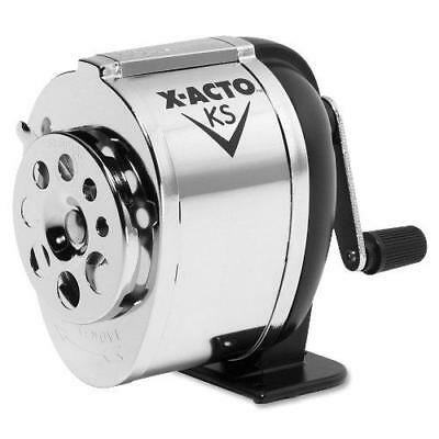 X-ACTO KS Manual Pencil Sharpener, Metal Finish New