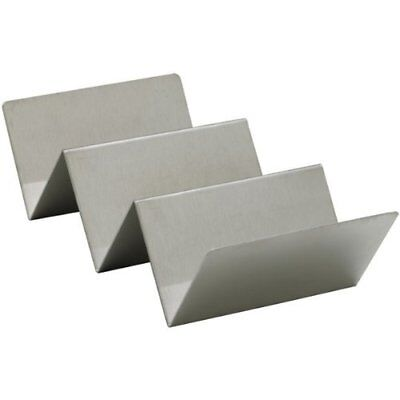 Winco TCHS-23 2-3 Compartments Stainless Steel Taco Holder New