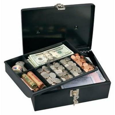 Master Lock 7113D Cash Box with 7-Compartment Tray New