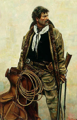 """""""Ready for Hire"""" Don Stivers Limited Edition Western Artist Proof Giclee Print"""