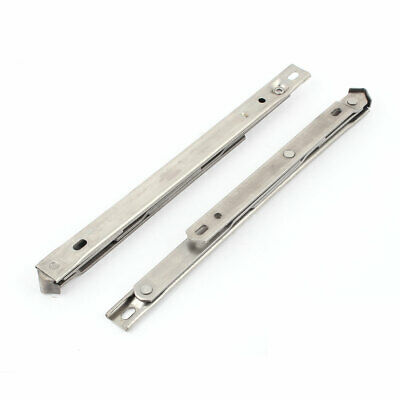 "2PCS Stainless Steel 10"" 250mm Top Side Hung Window Friction Hinges Stays"
