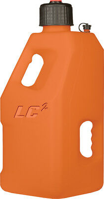 LC2 MX ATV Utility 5 Gallon Fuel Gas Can Jug ORANGE 30-1195