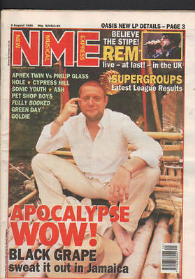 New Musical Express Rem,Black Grape,Green Day,Psb,5th august 1995