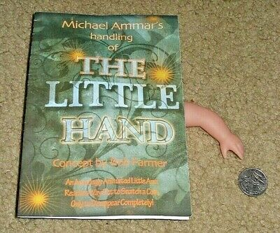 THE LITTLE HAND w/COIN MICHAEL AMMAR MAGICIAN MAGIC TRICK ENGLISH INSTRUCTIONS