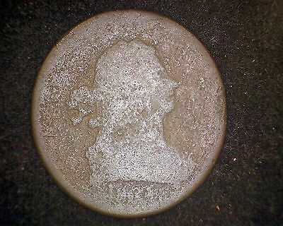 1804 Draped Bust Half Cent -Very Worn Coin #10939