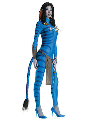 Adult Neytiri Avatar Party Outfit New Fancy Dress Fantasy Costume Ladies BN