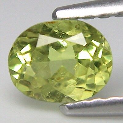 0.63 TCW Super-Excellent Oval  Shape Chrysoberyl Natural Gemstone *GF03
