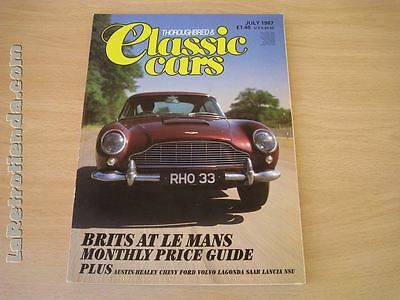 REVISTA THOROUGHBRED & CLASSICS CARS July 1987