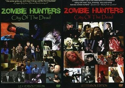 ZOMBIE HUNTERS CITY OF THE DEAD SEASON 1 VOL 1 + 2 New DVD