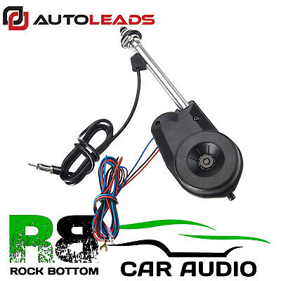 NISSAN 12V Universal Electric Automatic Wing Mount FM Car Radio Aerial Antenna