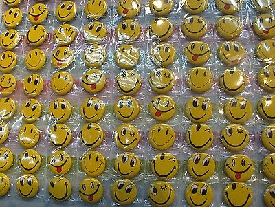 New Lot 108pcs  Smiling face children Badge Button Pin