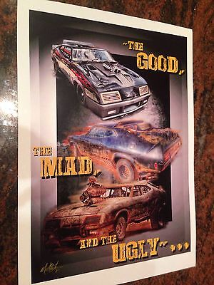 MAD Max The Good The Mad And The Ugly Print