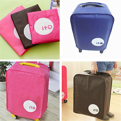 Fashion Luggage Protector Travel Suitcase Cover Durable Dust-proof Bags 3 Colors