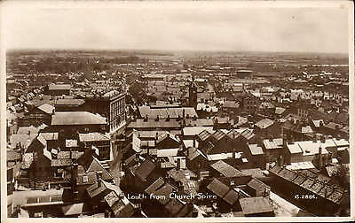 Louth from Church Spire # G.2886 by Valentine's.