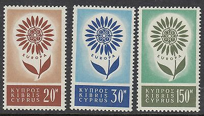 CYPRUS: 1964 Europa set   SG 249-51 never-hinged mint
