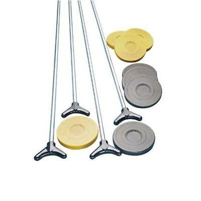 Champion Sports Outdoor Shuffleboard Cue and Puck Set New