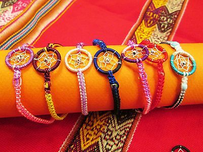 Wholesale Lot 300 Dreamcatcher   Friendships Bracelets From Peru