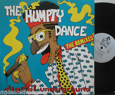"DIGITAL UNDERGROUND ~ The Humpty Dance ~ 12"" Single PS"