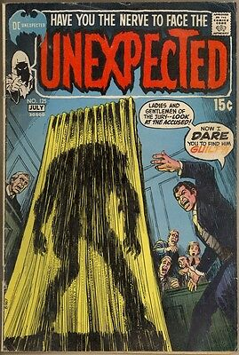 The Unexpected #125 - G/VG