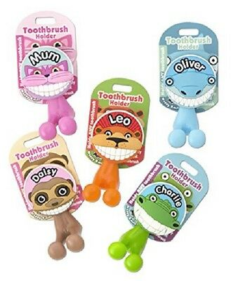 Toothbrush Holder ~ Kids/Family ~ Novelty Suction Cup Tooth Brush Holder