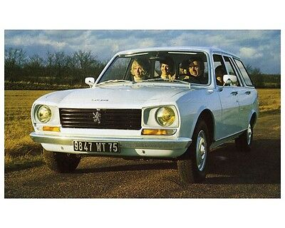 1972 Peugeot 504 Station Wagon Factory Photo ca2315