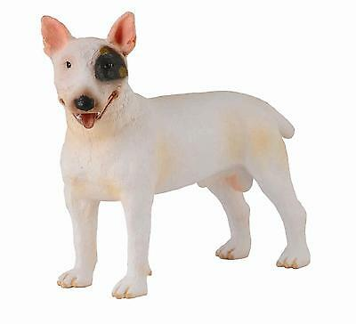 BULL TERRIER  - Male #88384~ Realistic Dog Replica FREE SHIP/USAw/$25+CollectA