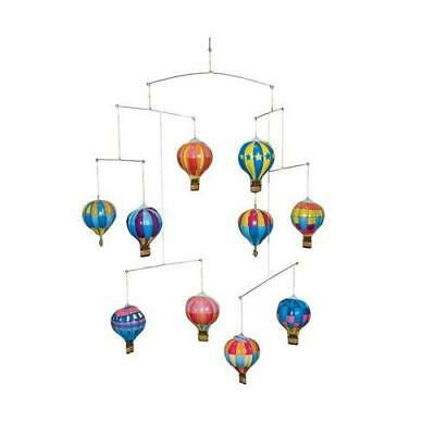 Schylling Tin Hot Air Balloon Mobile Toy New