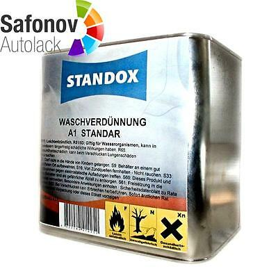 STANDOX Washing thinner 2,5 litre dilution Cleanser 0208441425