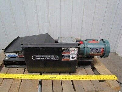 "Rapistan 14"" Conveyor Steel Belt Motor Speed Reducer Takeup Unit 3/4HP 3PH"