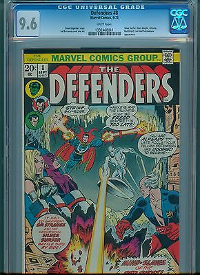 Defenders #8 CGC 9.6 White Pages