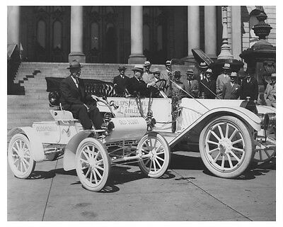 1902 Oldsmobile Old Scout Automobile Factory Photo ch8160