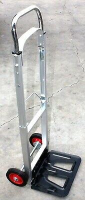 """43"""" Portable Aluminum Folding Dolly Moving Hand Cart Trucks Holds 200Lbs  New"""