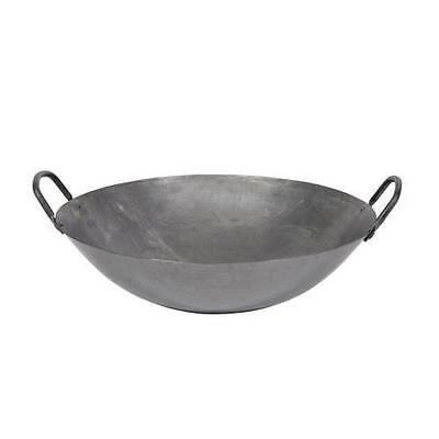 Town Food Service 16 Inch Steel Cantonese Style Wok New