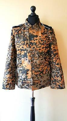 WW2 German Elite Oak Leaf camo M43 Uniform set Autumn S-XXL