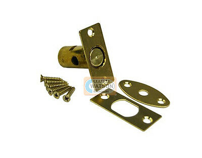 60mm BRASS SECURITY DOOR BOLT Dead Rack Lock with or without Star Key