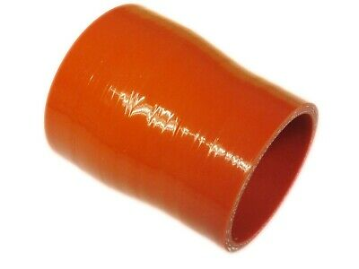 """RED Silicone Hose 51mm to 45mm Reducer (Silicon) 2"""" - 1.75"""" (50mm)"""
